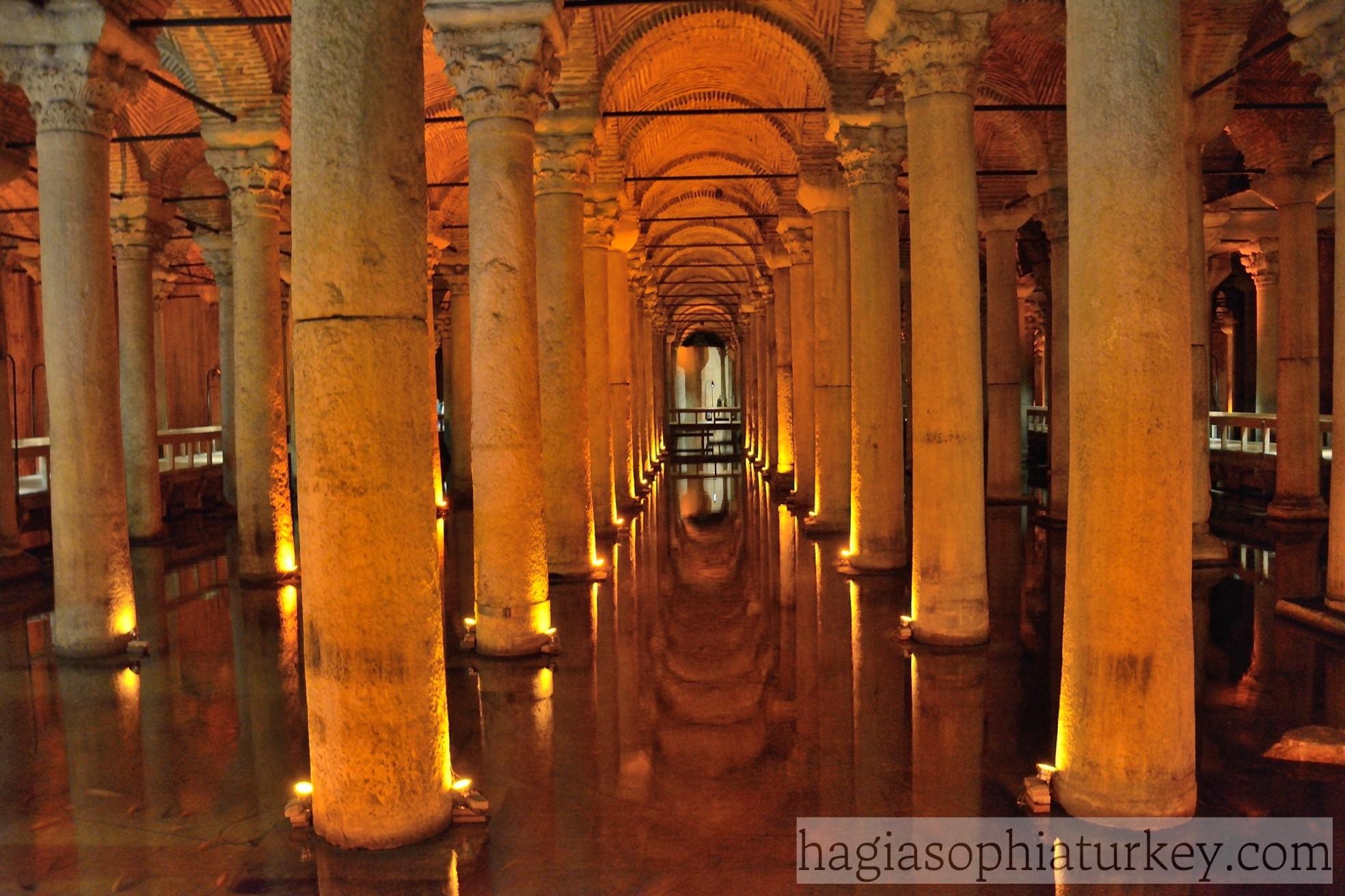 Basilica Cistern 187 Hagia Sophia