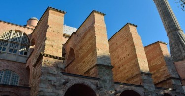 Buttresses of Hagia Sophia