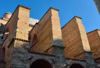 Buttresses of Hagia Sophia
