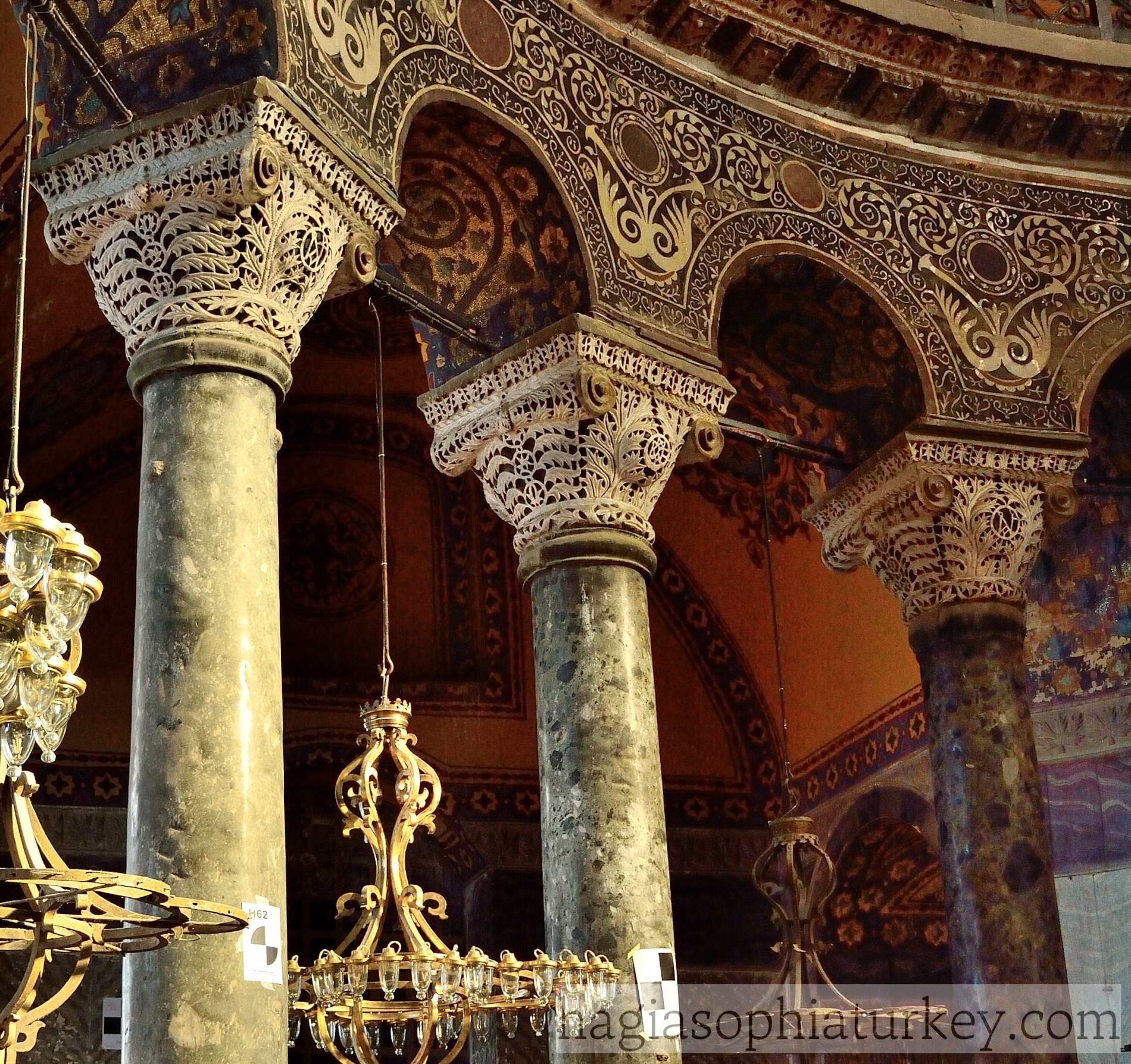 Columns 187 Hagia Sophia
