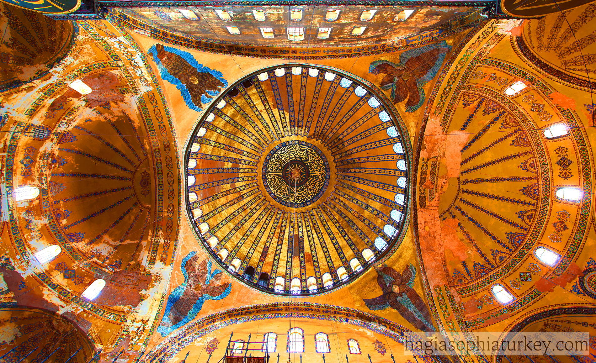 Dome of Hagia Sophia » Hagia Sophia