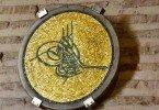 Mosaic Tughra Hagia Sophia Museum