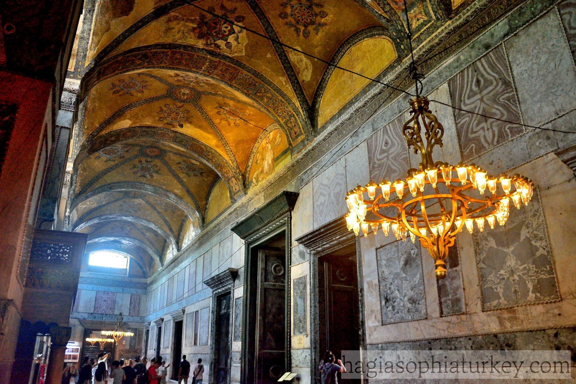Narthexes 187 Hagia Sophia