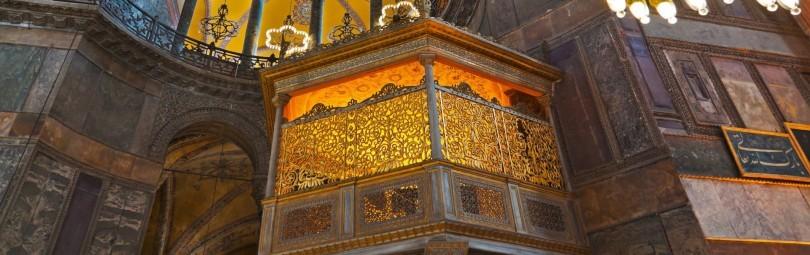 Sultans-Lodge Hagia Sophia