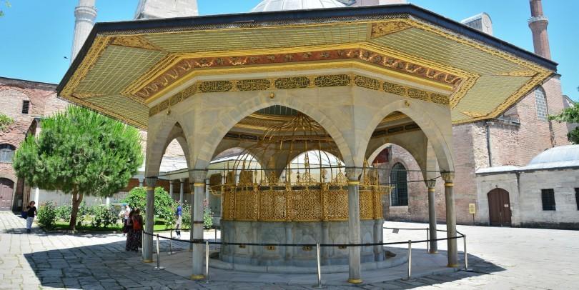 The Fountain of Hagia Sophia