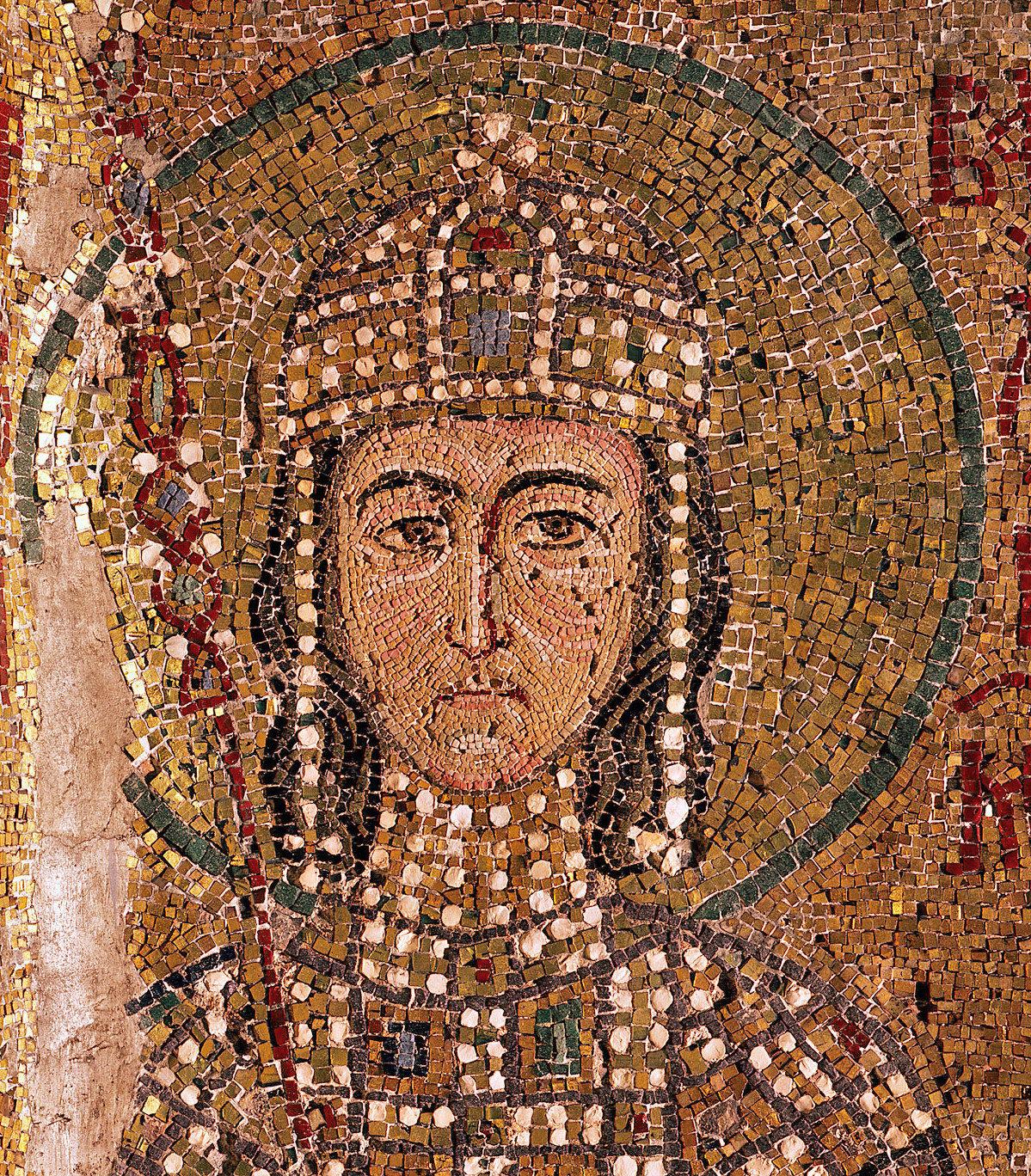 Alexios Mosaic in Hagia Sophia