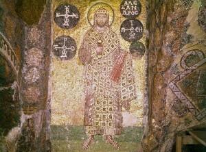 Emperor Alexander Mosaic in Hagia Sophia, Photo Credit Dumbarton Oaks