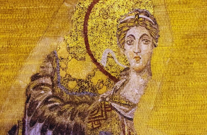Mosaic of Archangel Gabriel - Hagia Sophia