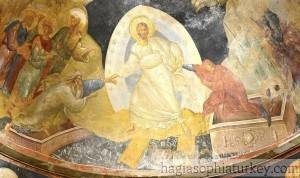 Anastasis Scene in Chora Museum