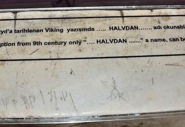 Varangian Scripts Hagia Sophia
