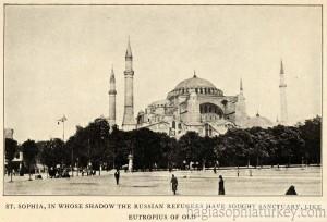 Hagia Sophia in 1923