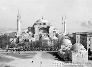 Hagia Sophia in 1926