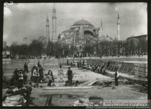 Hagia Sophia in 1927