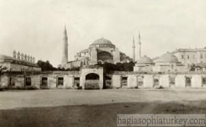 Hagia Sophia in 1929