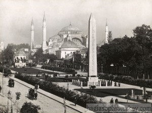 The Hippodrome & Hagia Sophia Sultanahmet Meydanı Solita Solano (photographer) -1922