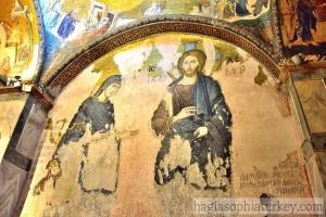 Deesis Mosaic in Chora