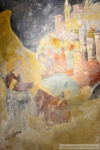 Resurrection of the son of a widow, Parekklesion, Chora Church