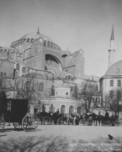 Hagia Sophia in 1904