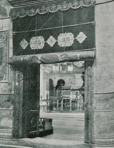 Emperor Gate, Hagia Sophia as a Mosque, 1909