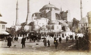 Gertrude Bell 1911 - Hagia Sophia