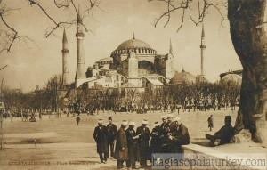 Hagia Sophia, Istanbul, 1910s