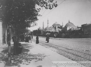 Hagia Sophia, Istanbul, 1915