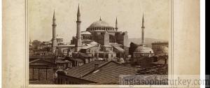 Hagia Sophia in 1907