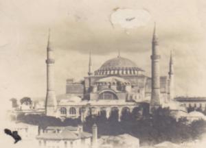 Hagia Sophia in 1931