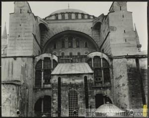 Hagia Sophia in 1934