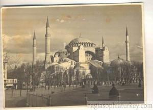 Hagia Sophia in 1938