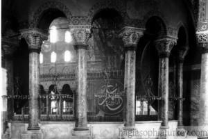 Hagia Sophia in 1914