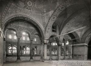 Upper Gallery, Hagia Sophia 1910