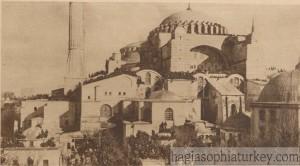 Hagia Sophia in 1919