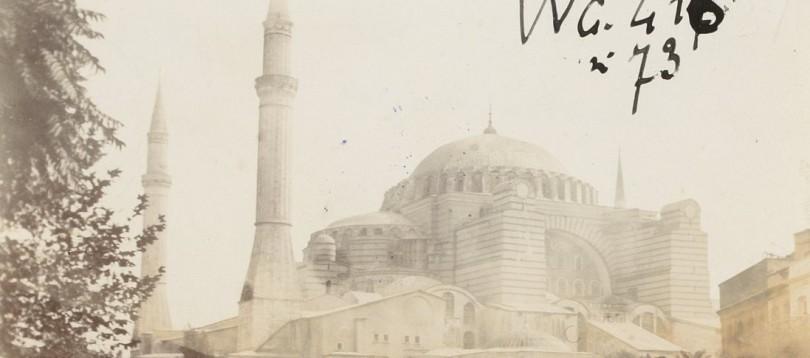 Hagia Sophia in 1890's