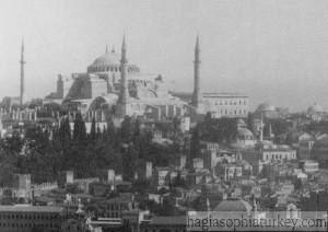 Hagia Sophia, Istanbul 1890s