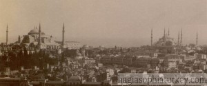 Hagia Sophia and Sultan Ahmed Mosque, 1890s