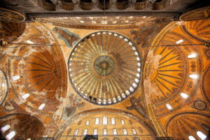 Dome of Hagia Sophia - Hagia Sophia Tours